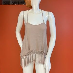 Tank top with Fringe
